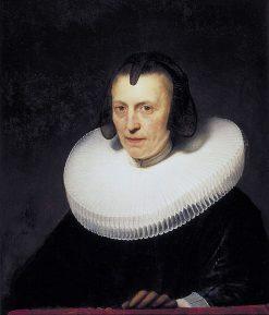 Portrait of Aletta Adriaensdr. | Rembrandt van Rijn | Oil Painting