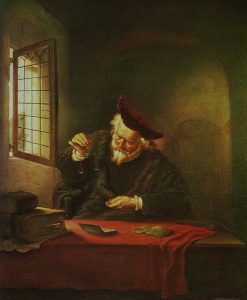 The Gold Weigher | Salomon Koninck | Oil Painting