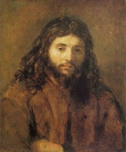 Bust of Christ | Rembrandt van Rijn | Oil Painting