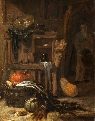 Interior with Peasant | Willem Kalf | Oil Painting