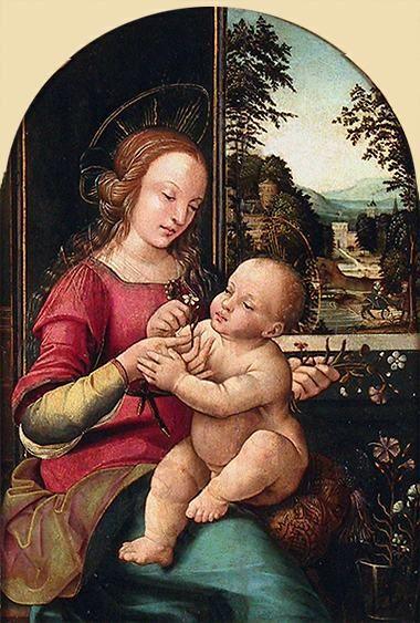 Madonna and Child | Francesco Botticini | Oil Painting