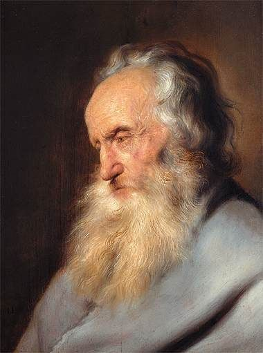 Old Bearded Man | Jan Lievens | Oil Painting