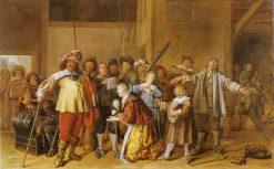 Plunder Scene | Jan Miense Molenaer | Oil Painting