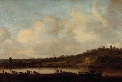 Rhineland-Palatinate at Elten | Jan van Goyen | Oil Painting