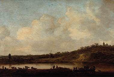 Rhineland-Palatinate at Elten | Jan van Goyen | Oil Painting