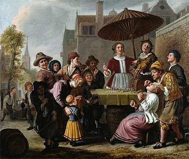 Market Scene | Jan Victors | Oil Painting