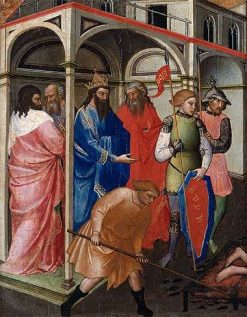 The Martyrdom of the Innocents   Mariotto di Nardo   Oil Painting