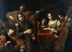Company of Musicians | Valentin de Boulogne | Oil Painting
