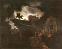 Heimkehr der Mönche ins Kloster | Carl Gustav Carus | Oil Painting