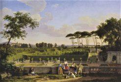 Park in Villa Doria Pamphilj | Johann Christian Reinhart | Oil Painting