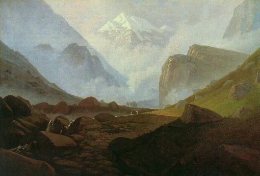 High Mountain Valley | Carl Gustav Carus | Oil Painting