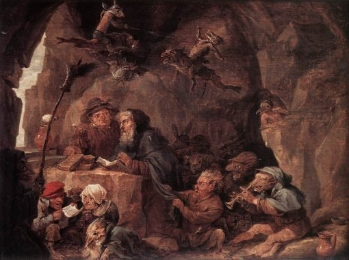 Temptation of St Anthony | David Teniers II | Oil Painting