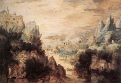 Landscape with Christ and the Men of Emmaus | Herri met de Bles | Oil Painting