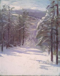 Winter Scene | Abbott Handerson Thayer | Oil Painting