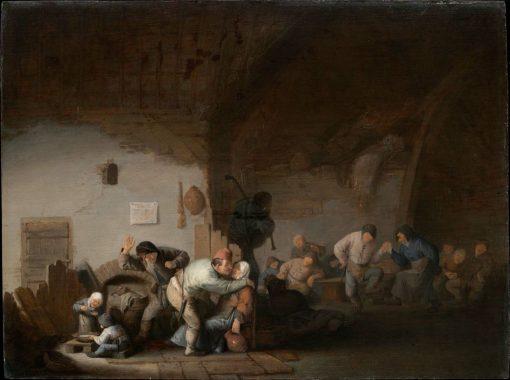 Peasants Merrymaking | Adriaen van Ostade | Oil Painting