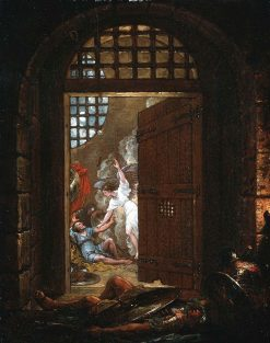 St. Peter Released from Prison | Benjamin West | Oil Painting