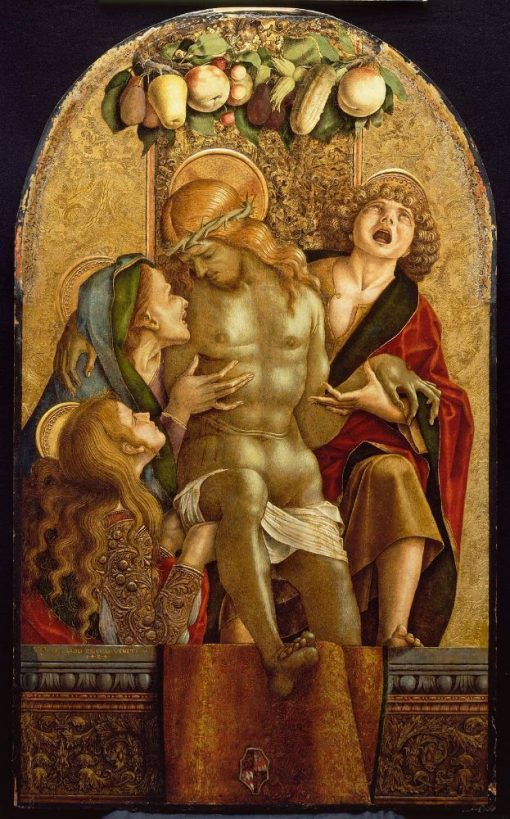 Lamentation over the Dead Christ | Carlo Crivelli | Oil Painting