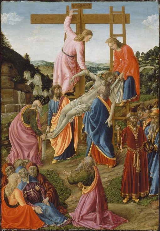 Descent from the Cross   Cosimo Rosselli   Oil Painting