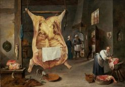 Butcher Shop | David Teniers II | Oil Painting