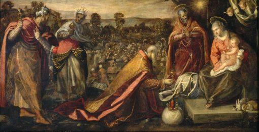Adoration of the Magi | Domenico Tintoretto | Oil Painting
