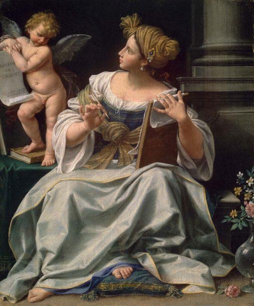 A Cumaean Sibyl | Donato Creti | Oil Painting