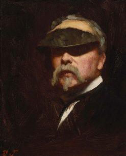 Self Portrait   Eastman Johnson   Oil Painting