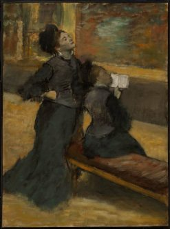 Visit to a Museum | Edgar Degas | Oil Painting