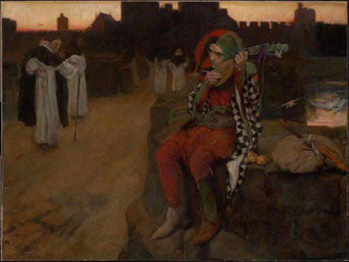 The Bridge | Edwin Austin Abbey | Oil Painting