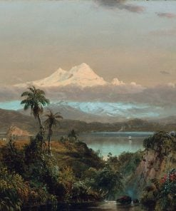 Cayambe | Frederic Edwin Church | Oil Painting