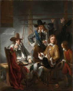 Soldiers in a Guardroom | Gerbrand van den Eeckhout | Oil Painting