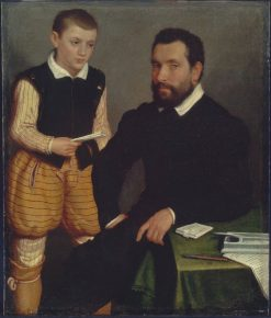 Count Alborgetti and Son | Giovanni Battista Moroni | Oil Painting