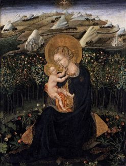 Madonna of Humility | Giovanni di Paolo | Oil Painting
