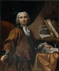Chancellor Florius Senesius | Giuseppe Maria Crespi | Oil Painting