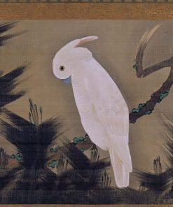White Cockatoo on a Pine Branch | Ito? Jakuchu? | Oil Painting