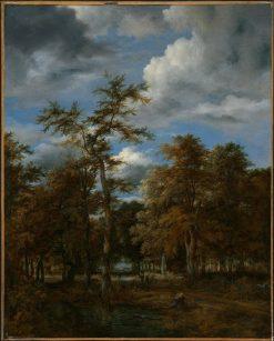 Woodland Vistas | Jacob van Ruisdael | Oil Painting