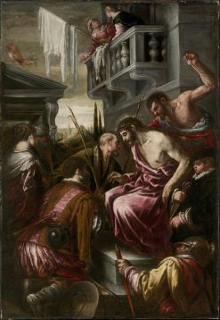 The Mocking of Christ   Jacopo Bassano   Oil Painting