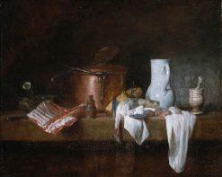 The Kitchen Table | Jean Baptiste Simeon Chardin | Oil Painting
