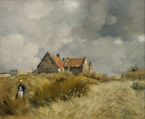 Cottage in the Dunes | Jean Charles Cazin | Oil Painting