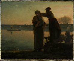 Washerwomen | Jean Francois Millet | Oil Painting