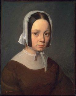 Madame J-F Millet   Jean Francois Millet   Oil Painting