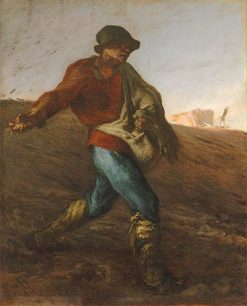The Sower | Jean Francois Millet | Oil Painting