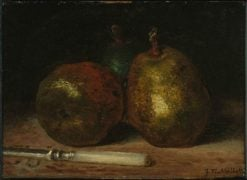 Pears   Jean Francois Millet   Oil Painting
