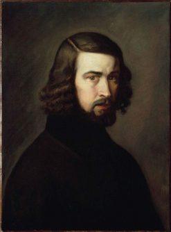Self Portrait | Jean Francois Millet | Oil Painting