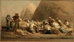 Harvestors Resting | Jean Francois Millet | Oil Painting