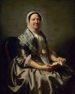 Mrs. Nathaniel Ellery (Ann Sargent) | John Singleton Copley | Oil Painting