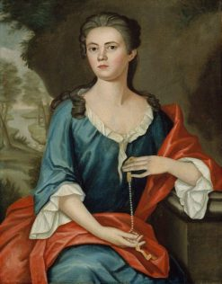 Mrs. Joseph Mann (Bethia Torrey) | John Singleton Copley | Oil Painting