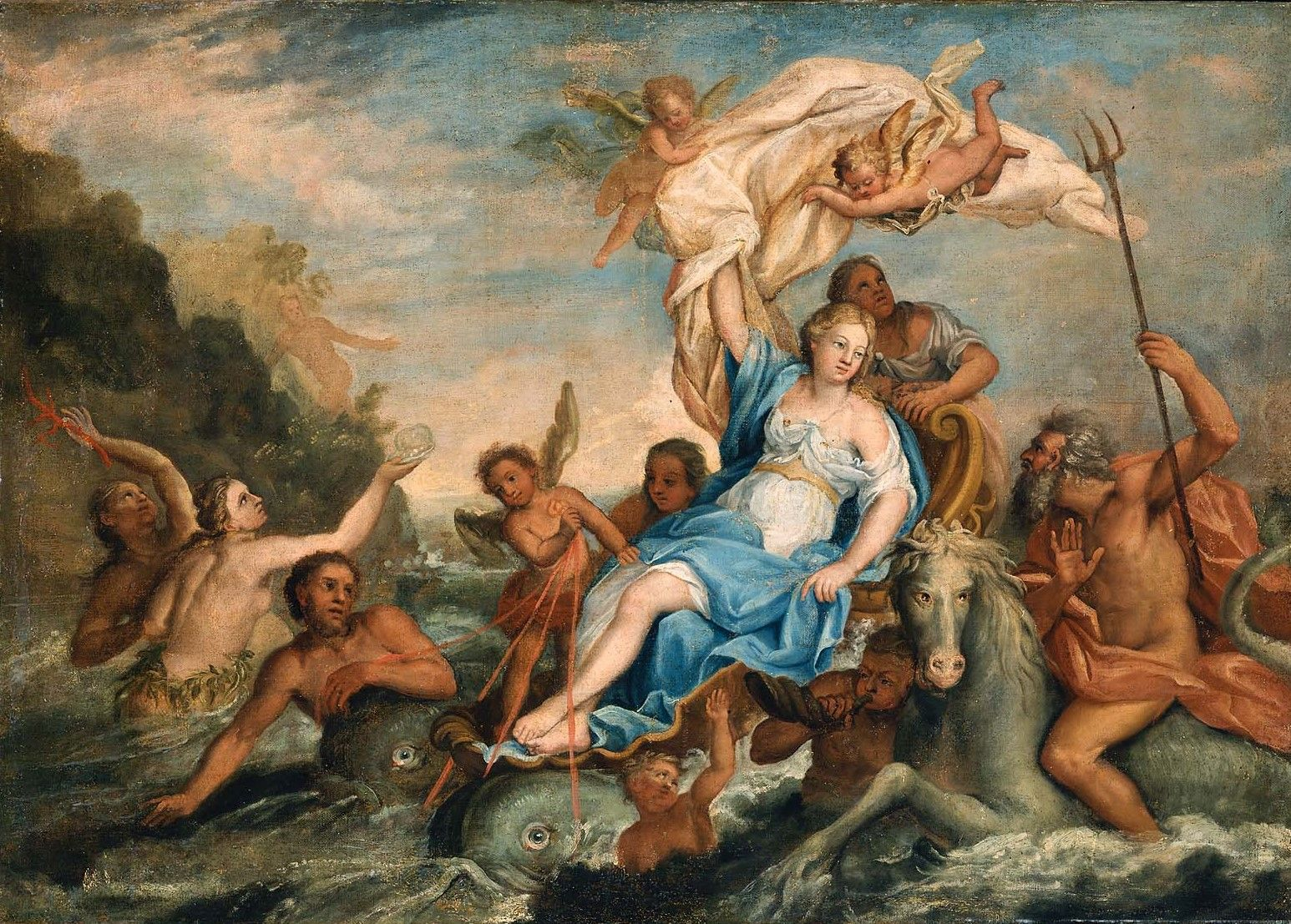 Galatea | John Singleton Copley | Oil Painting