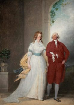 Mr. and Mrs. Thomas Russell | John Trumbull | Oil Painting