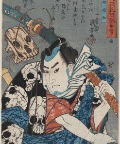 Nozarashi Gosuke | Kuniyoshi Utagawa | Oil Painting