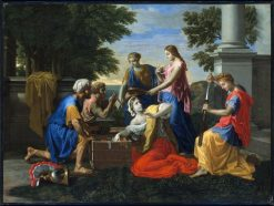 Discovery of Achilles on Skyros | Nicolas Poussin | Oil Painting